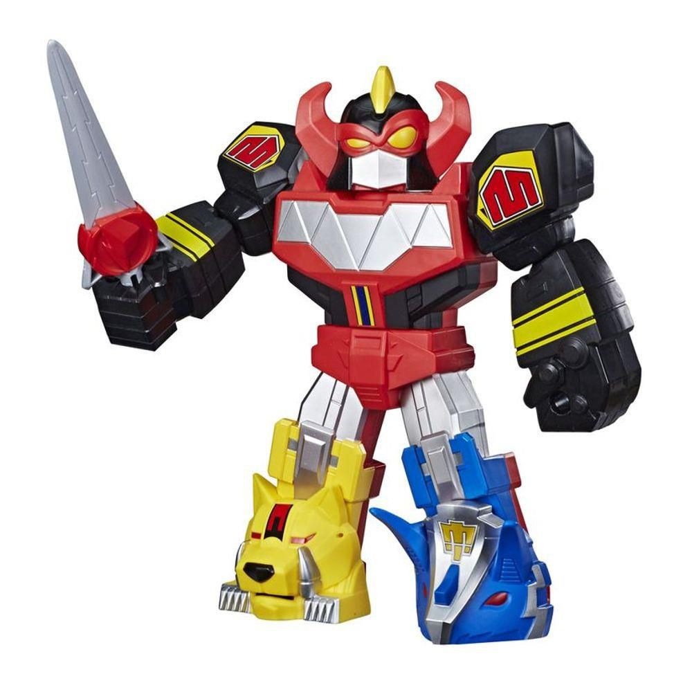 Power Rangers - Mega Mighties - Boneco Megazord - Hasbro - E6361