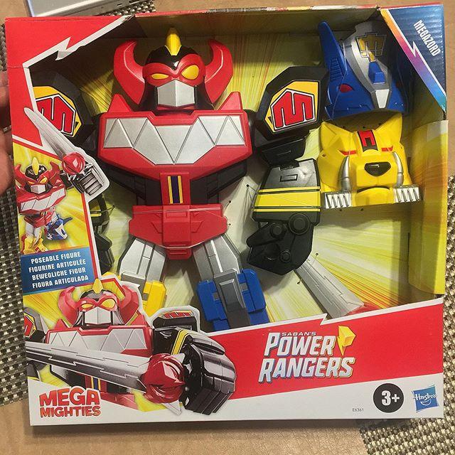 Power Rangers - Mega Mighties - Boneco Megazord - Hasbro - E6361