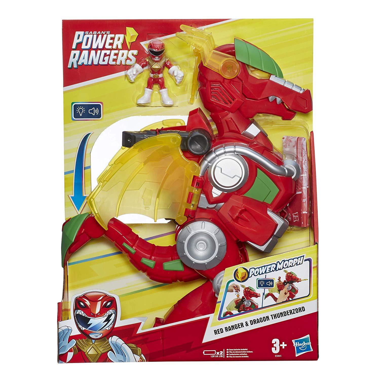 Power Rangers - Red Ranger & Dragon Thunderzord - Hasbro E5865