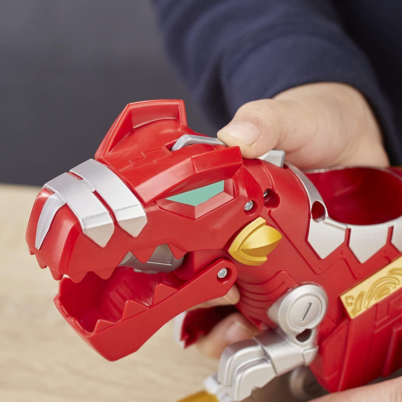 Power Rangers - Red Ranger & T-Rex Zord - Hasbro E5866