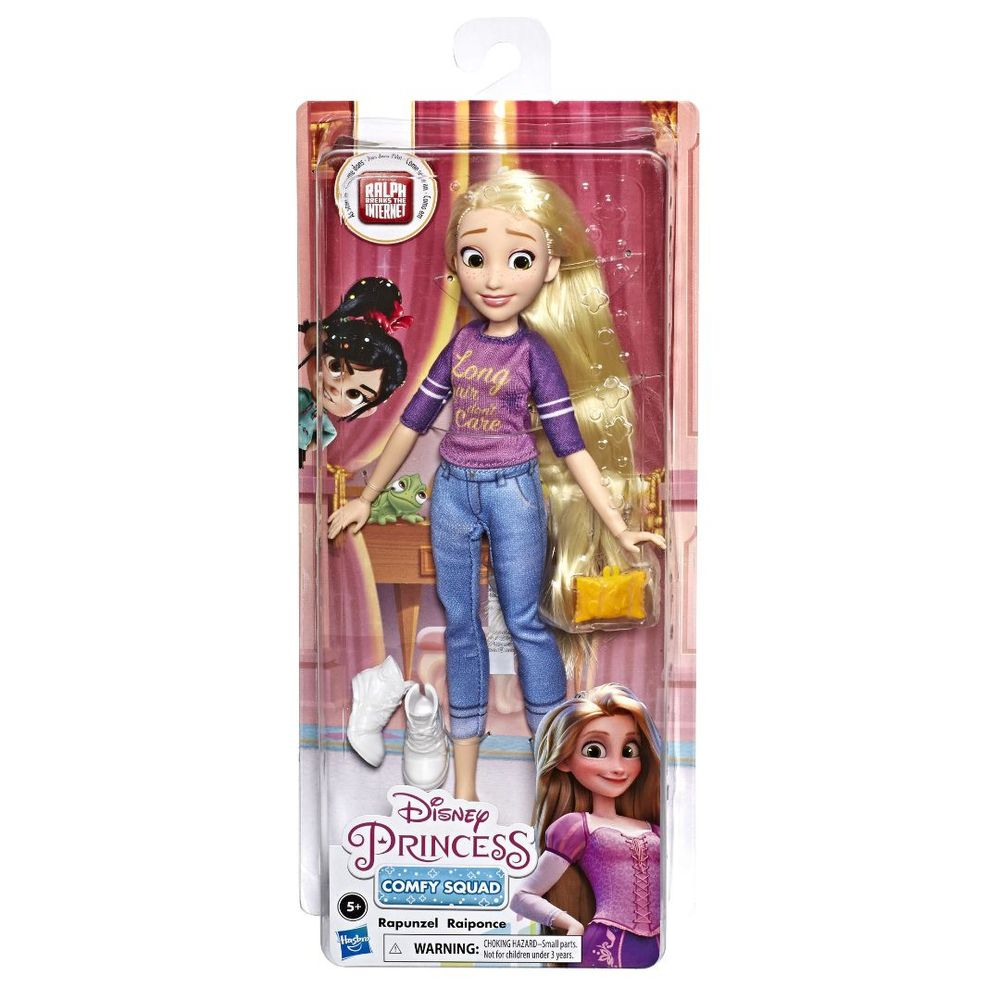 Princesa Comfy Squad Rapunzel - Detona Ralph - Hasbro Original E8402