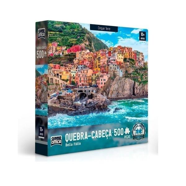 Quebra Cabeça - Cinque Terre 500 peças Bella Italia Toyster