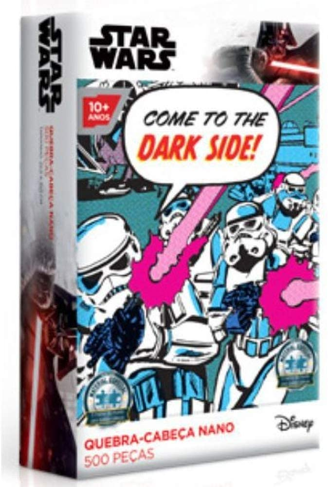 Quebra Cabeça Star Wars Nano Stormtrooper 500 Peças Toyster