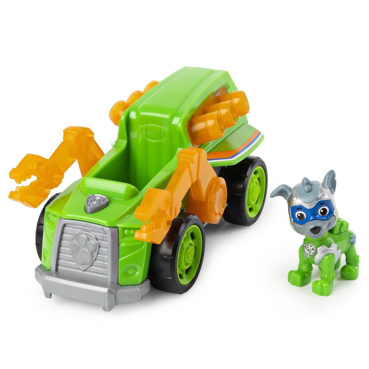 Rocky - Super Veículo Luz e Som - Patrulha Canina  - Sunny