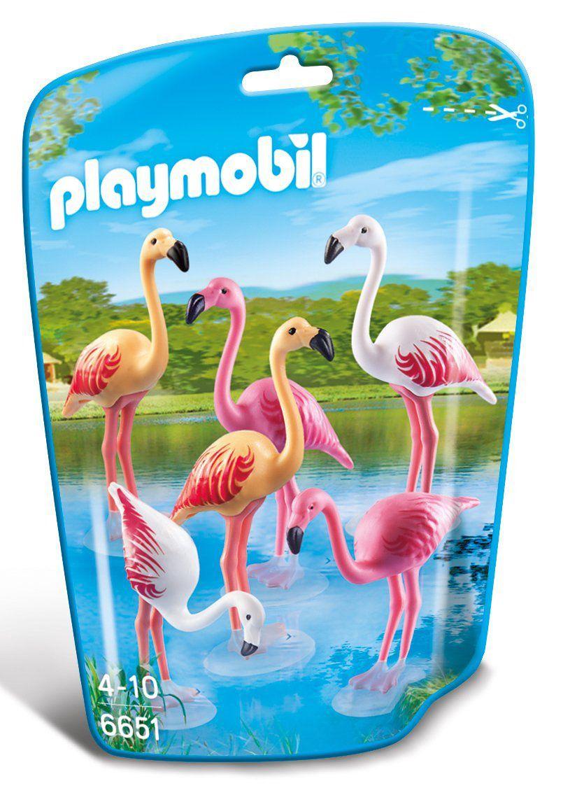 Saquinho Playmobil Animais Zoo - Família Flamingos 6651