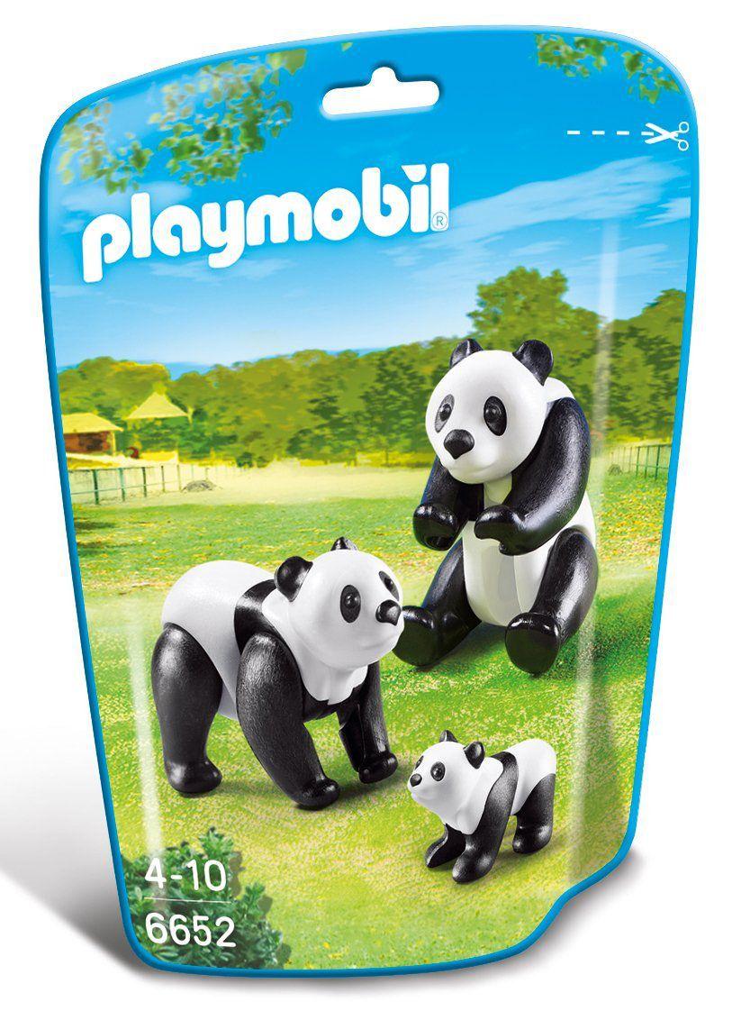 Saquinho Playmobil Animais Zoo - Família Panda 6652