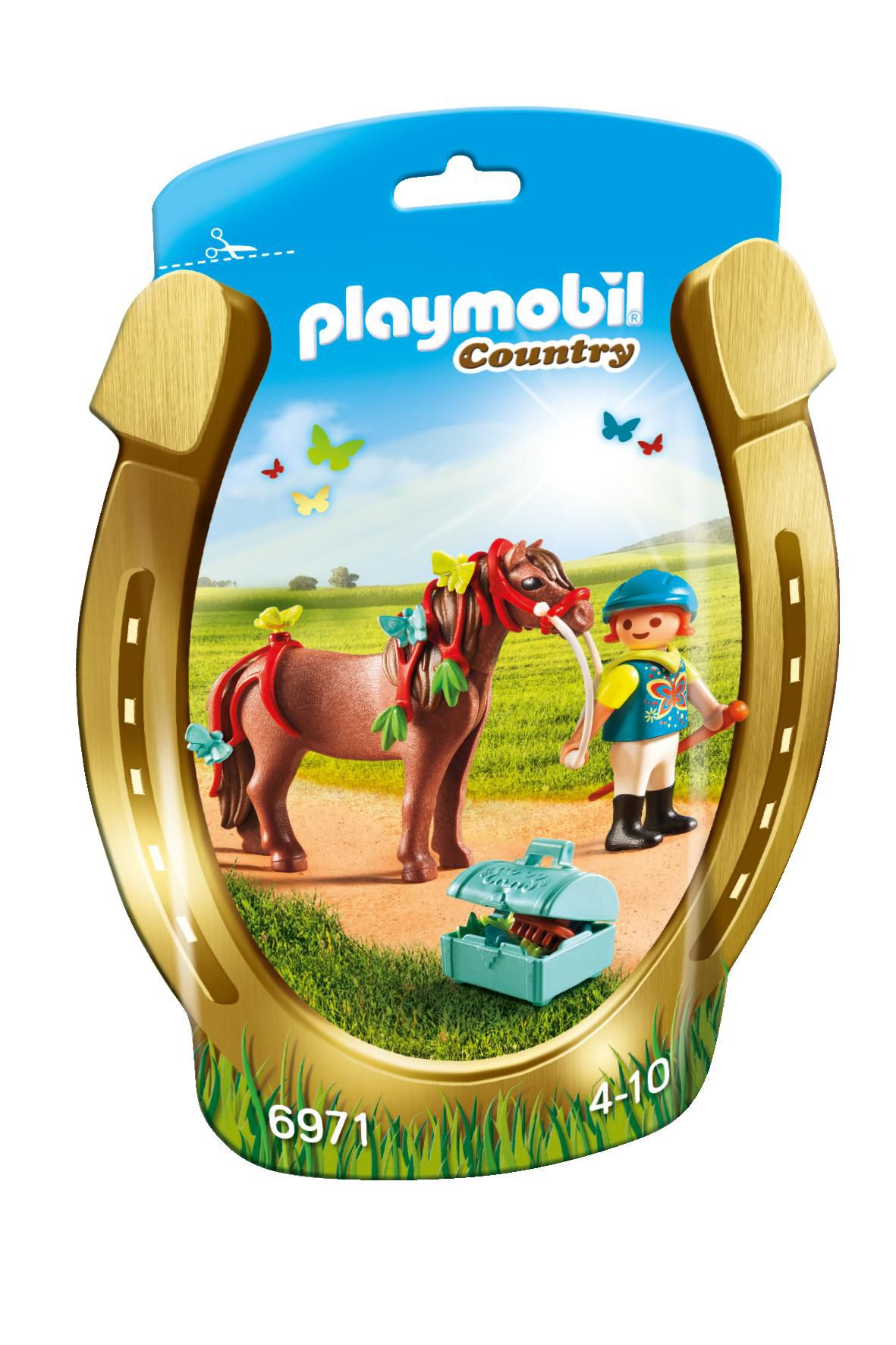 Saquinho Playmobil Country - Butterfly Pony 6971