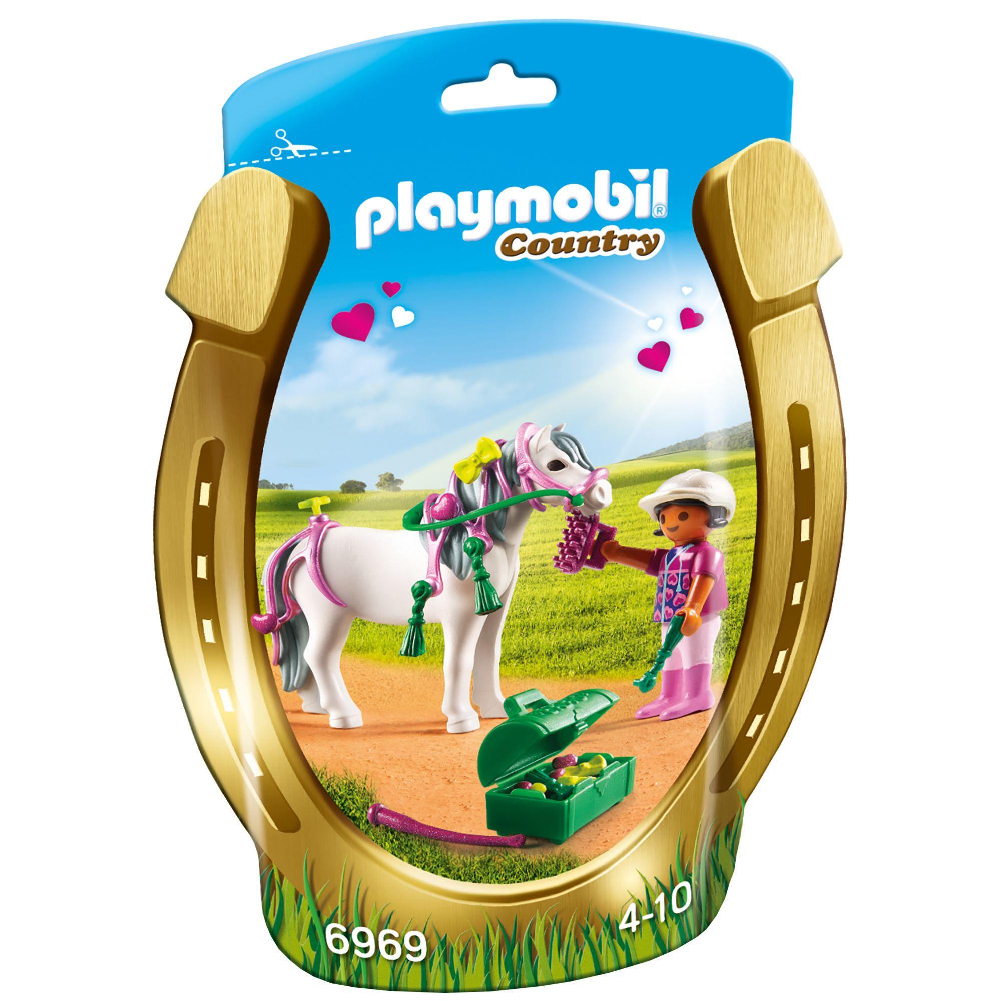 Saquinho Playmobil Country - Pônei Coração 6969