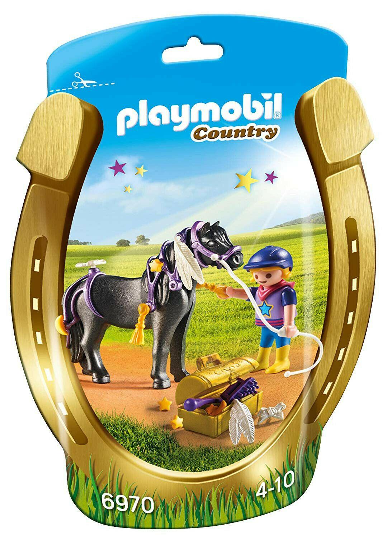 Saquinho Playmobil Country - Star Pony 6970