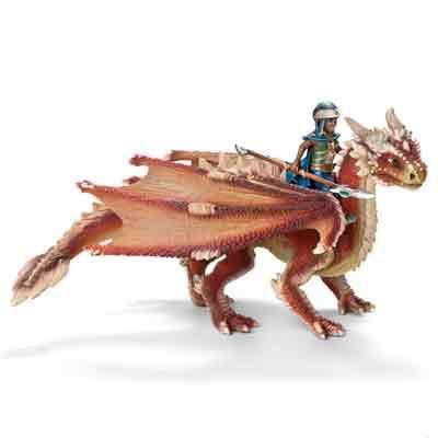 Miniatura Schleich  Jovem Cavalheiro Dragão -70465