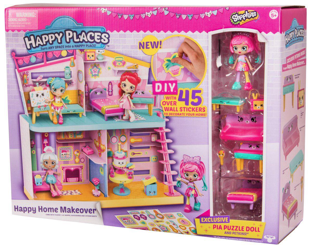 Shopkins - Happy Home Redecorada - Boneca Pati Puzzle - DTC