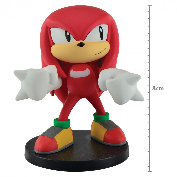 Boneco Sonic - Knuckles -  The Hedgehog Boom - First4figure