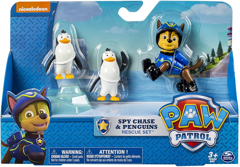 Spy Chase e Pinguins - Patrulha Canina Resgate Set - Sunny
