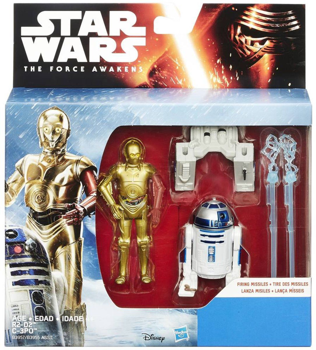 Star Wars The Force Awakens - C-3PO & R2-D2 - Hasbro B3955