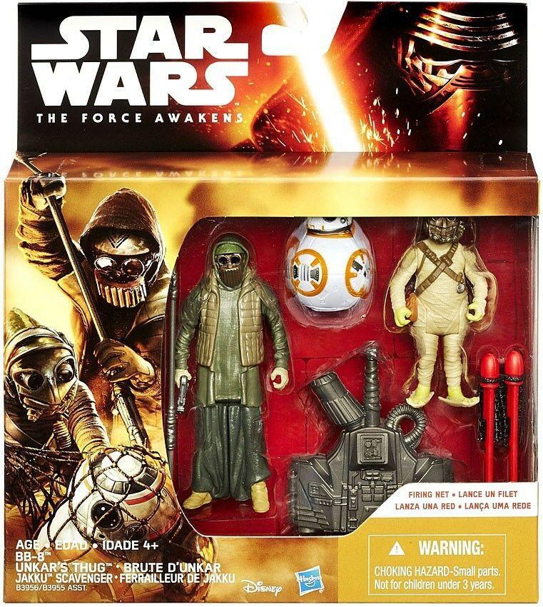 Star Wars The Force Awakens - Unkar & Jakku - Hasbro B3955
