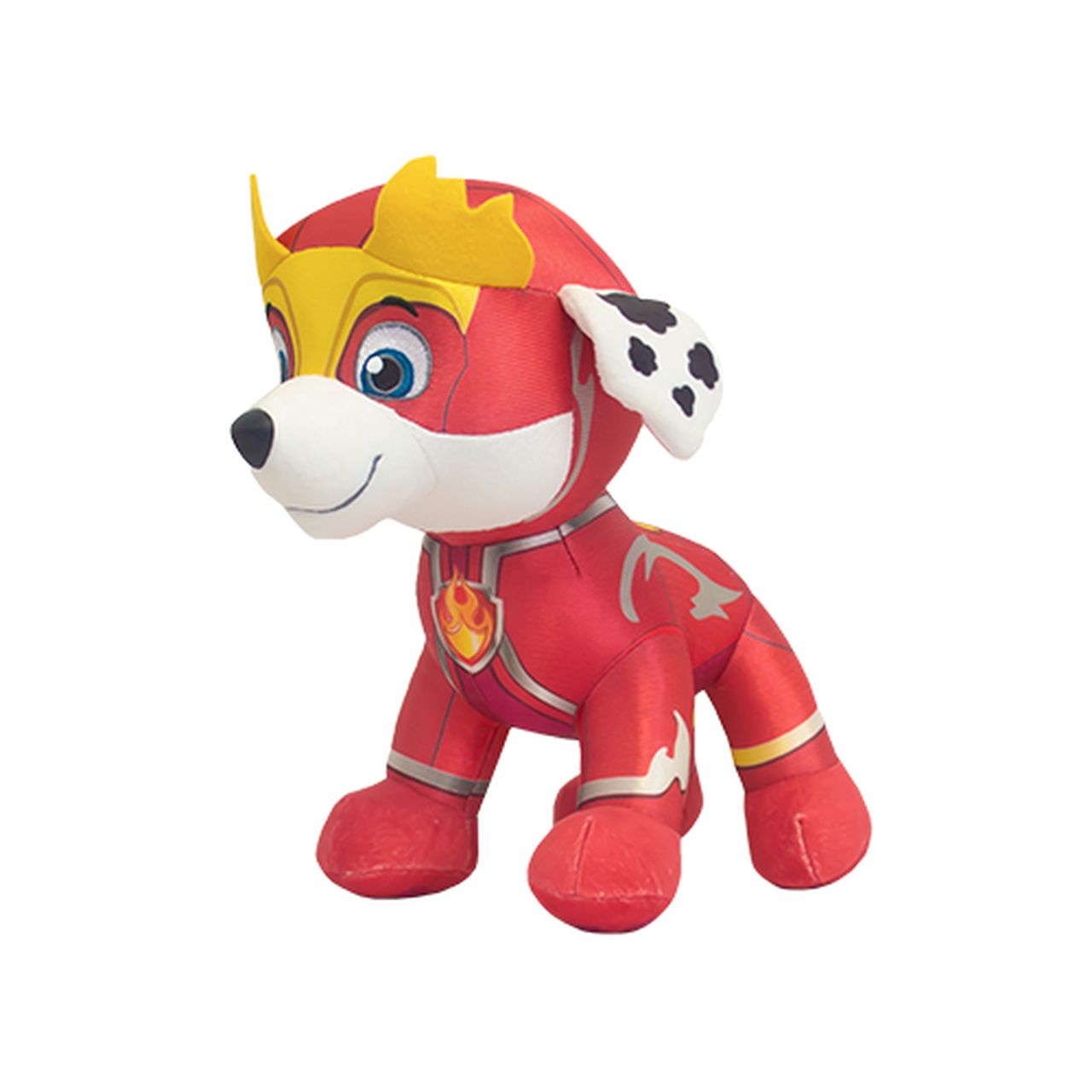 Super Marshall Might Pups - Pelúcia Patrulha Canina - 30 Cm