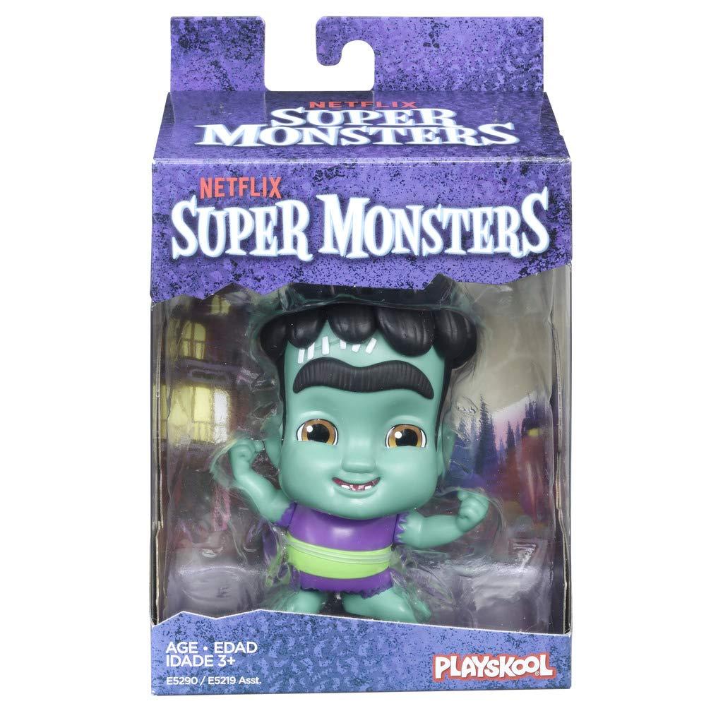 Super Monstros - Frankie Mash Mini Figura 10 cm - Playskool