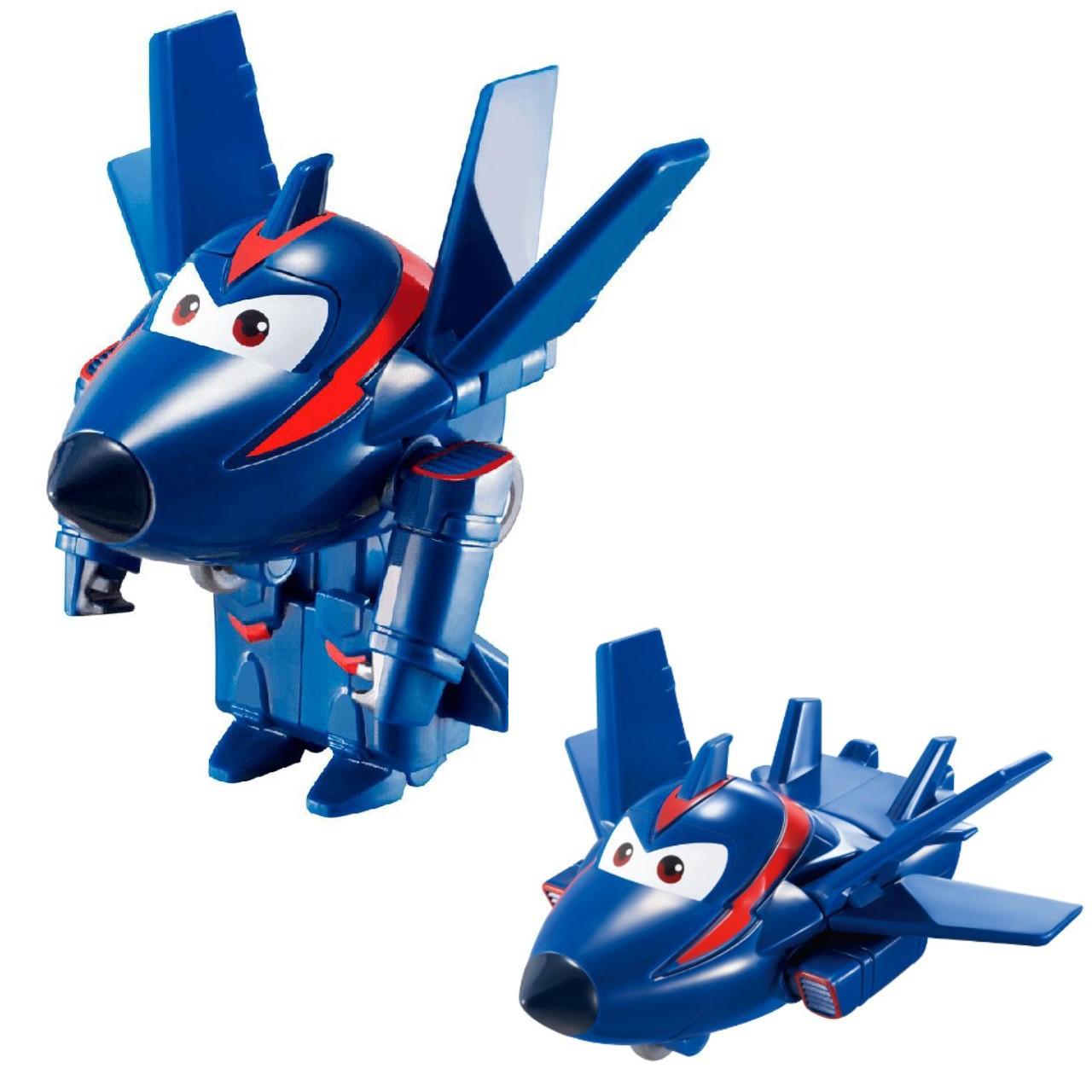 Super Wings Agente Chace - Boneco Transformável 6cm - Fun
