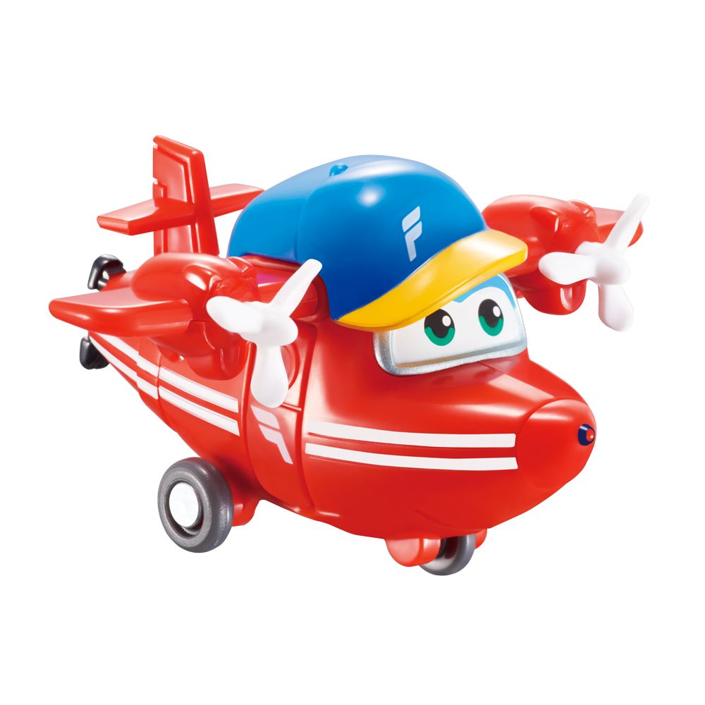 Super Wings Flip - Mini Boneco Transformável 6cm - Fun