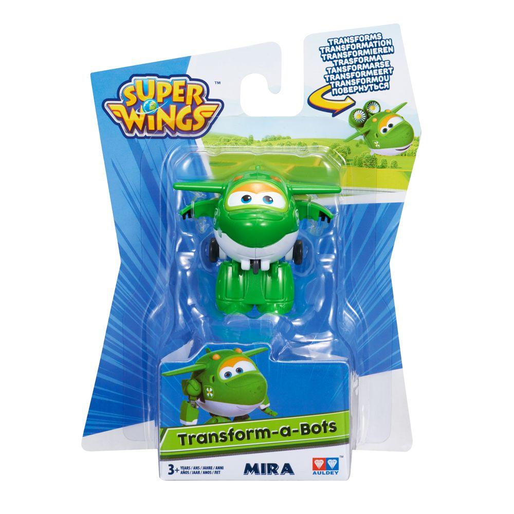 Super Wings Mira - Mini Boneco Transformável 6cm - Fun