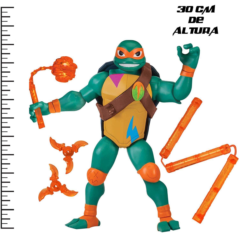 Tartarugas Ninja Figura de Luxo Gigante - Michelangelo 30 cm