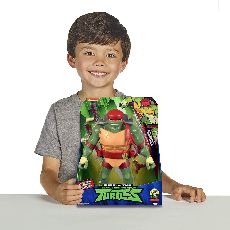 Tartarugas Ninja - Figura de Luxo Gigante - Raphael 30 cm
