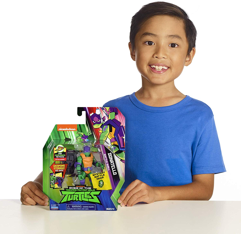 Tartarugas Ninja - Figuras de Ação - Donatello Porta Armas