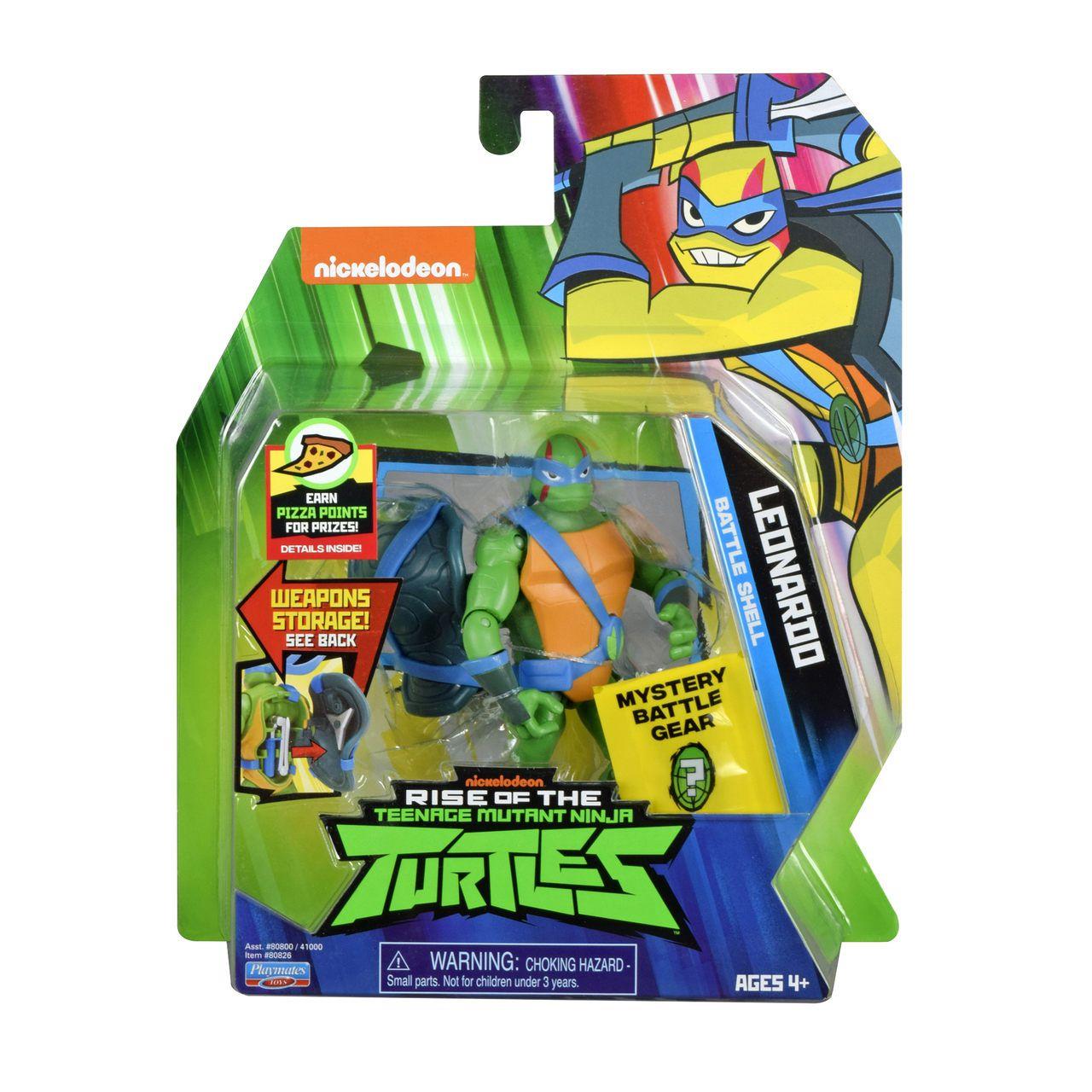 Tartarugas Ninja - Figuras de Ação - Leonardo Porta Armas