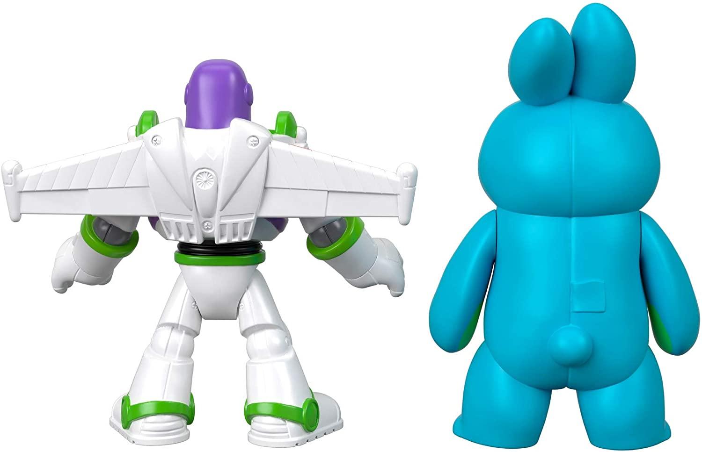 Toy Story 4 - Bonecos - Bunny e Buzz - Imaginext - Disney