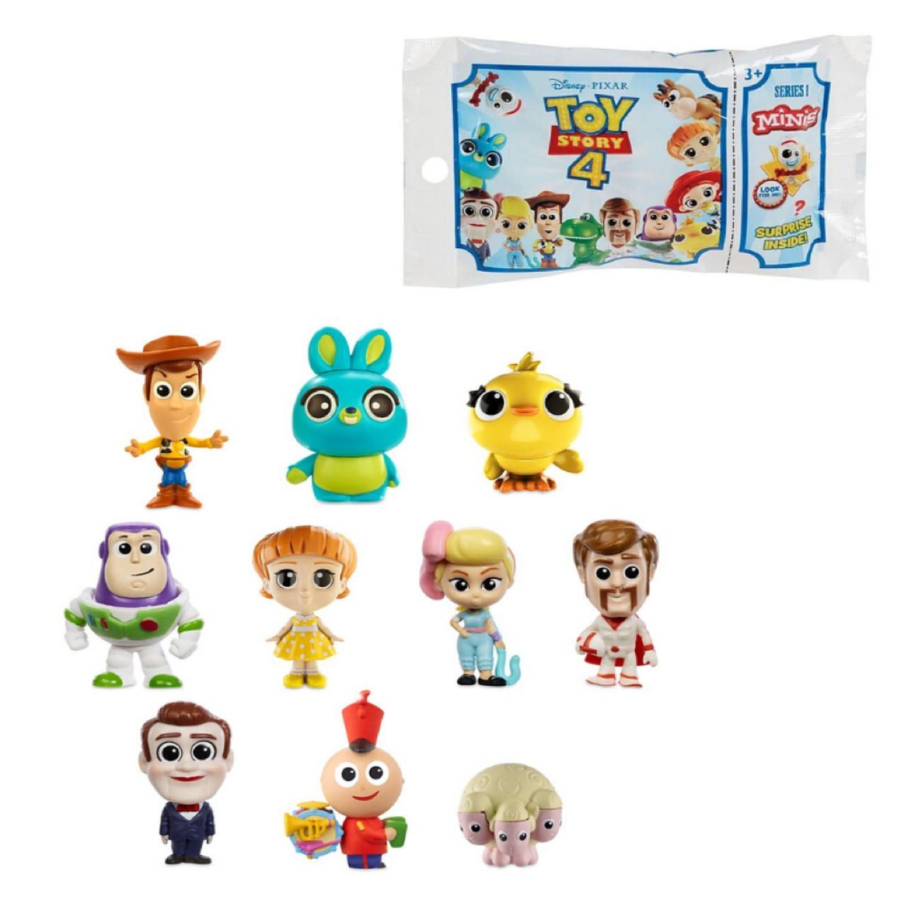 Toy Story 4 - Kit com 5 Mini Figura Surpresa - Mattel