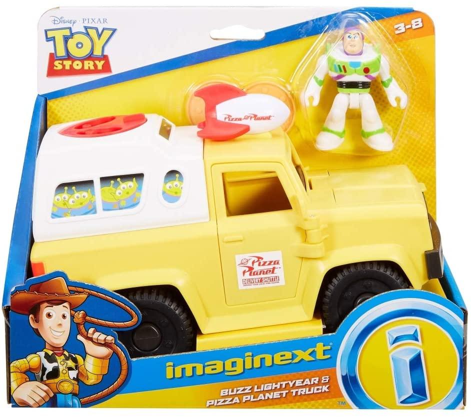 Toy Story - Boneco e Veículo - Buzz - Imaginext Disney Pixar