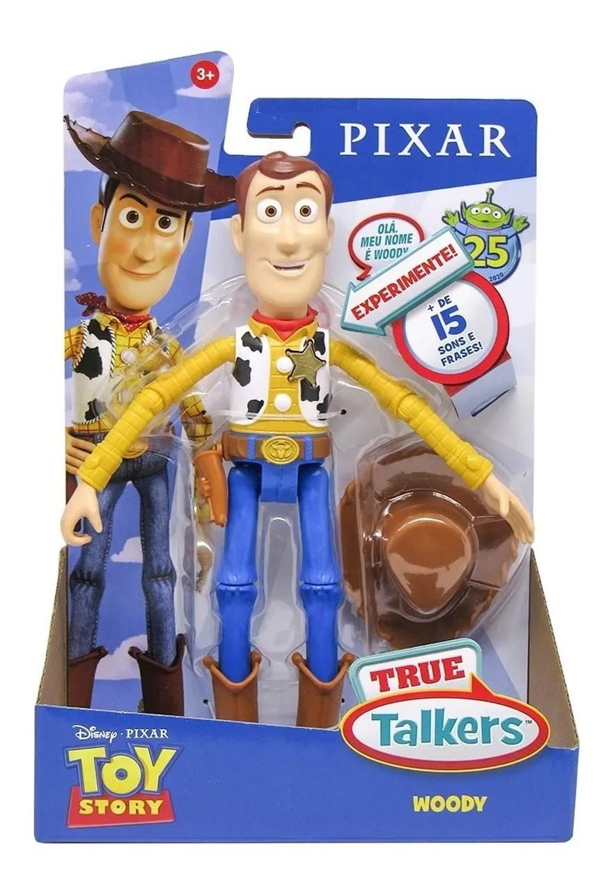 Toy Story - Boneco Falante - Woody 23cm - Mattel Disney