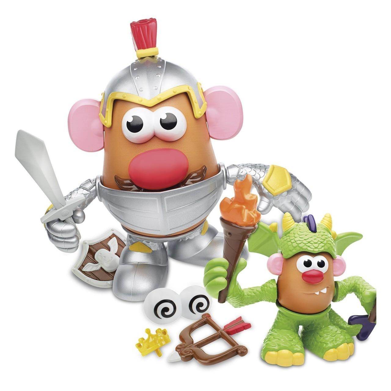 Toy Story - Boneco Sr Cabeça de Batata - Histórias Cavaleiro