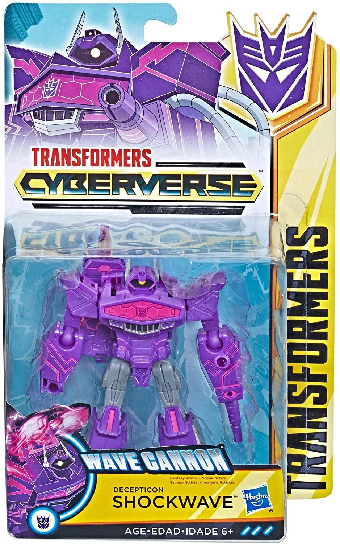 Boneco Transformers Cybervers - Shockwave - Hasbro E1884