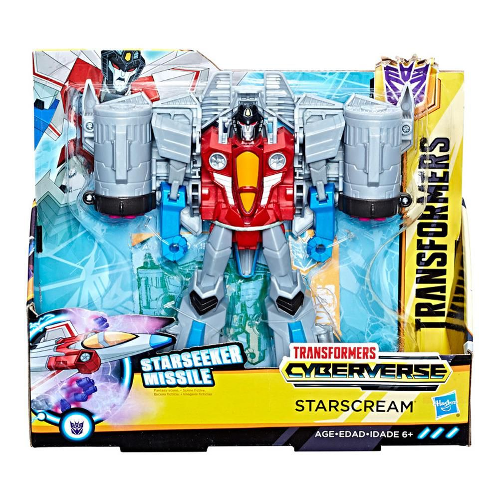 Transformers Cyberverse Commander- Starscream - Hasbro E1886