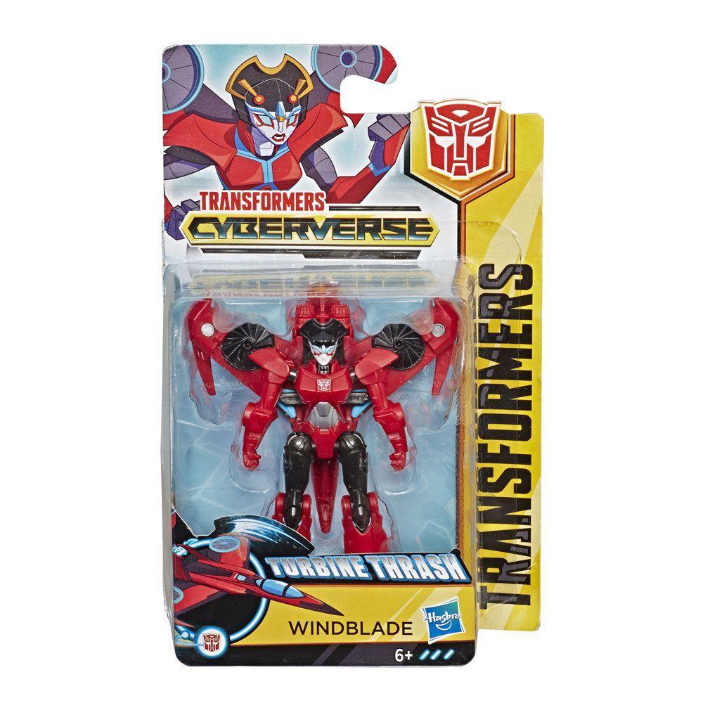 Transformers Cyberverse Turbine Thrash - Windblade - Hasbro E1883