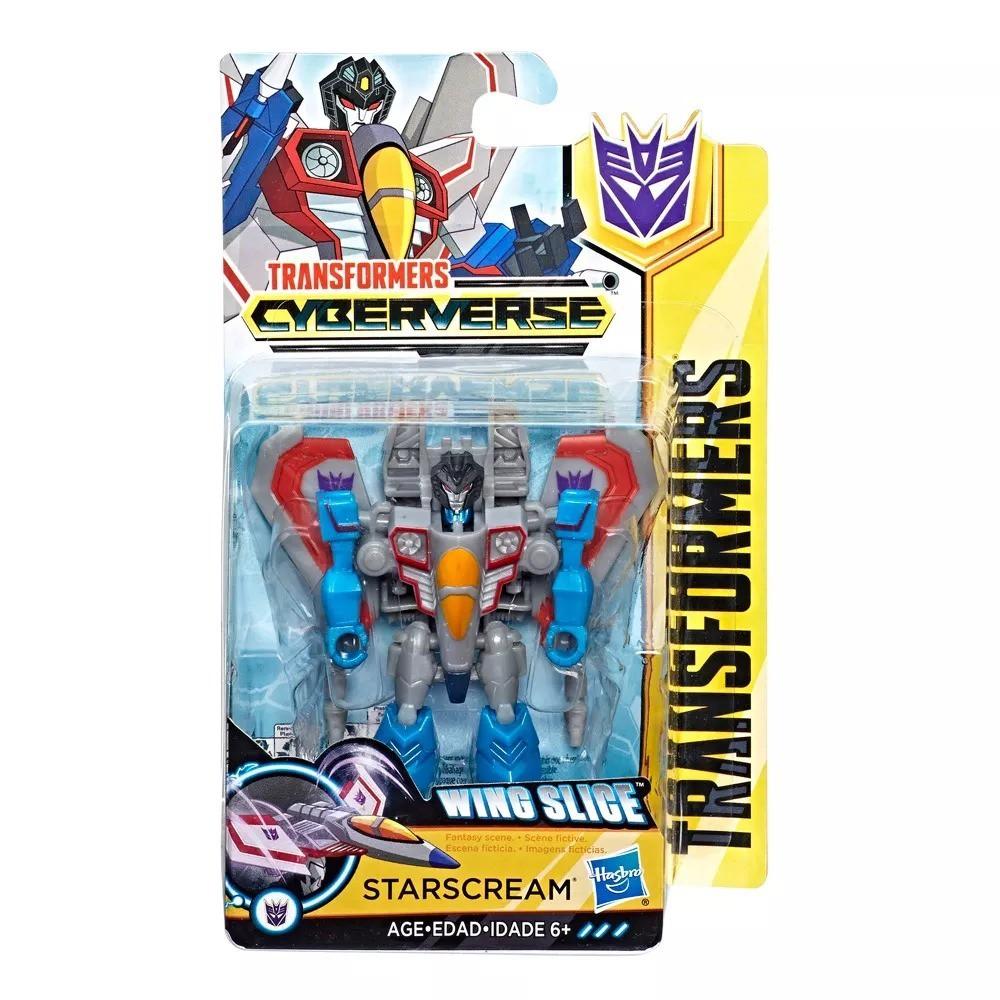 Transformers Cyberverse Wing Slige - Starscream - Hasbro E1883