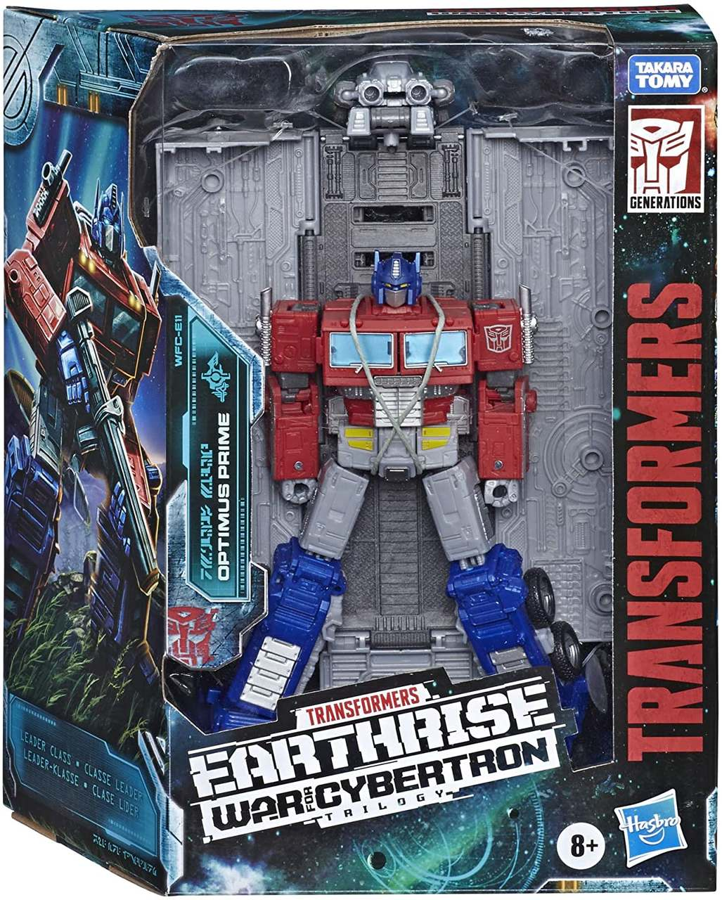 Transformers Earthrise Leader WFC-E11 Optimus Prime - Hasbro