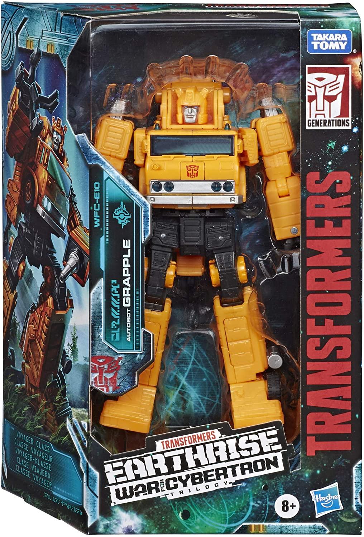 Transformers Earthrise War Cybertron - Grapple E10 - Hasbro