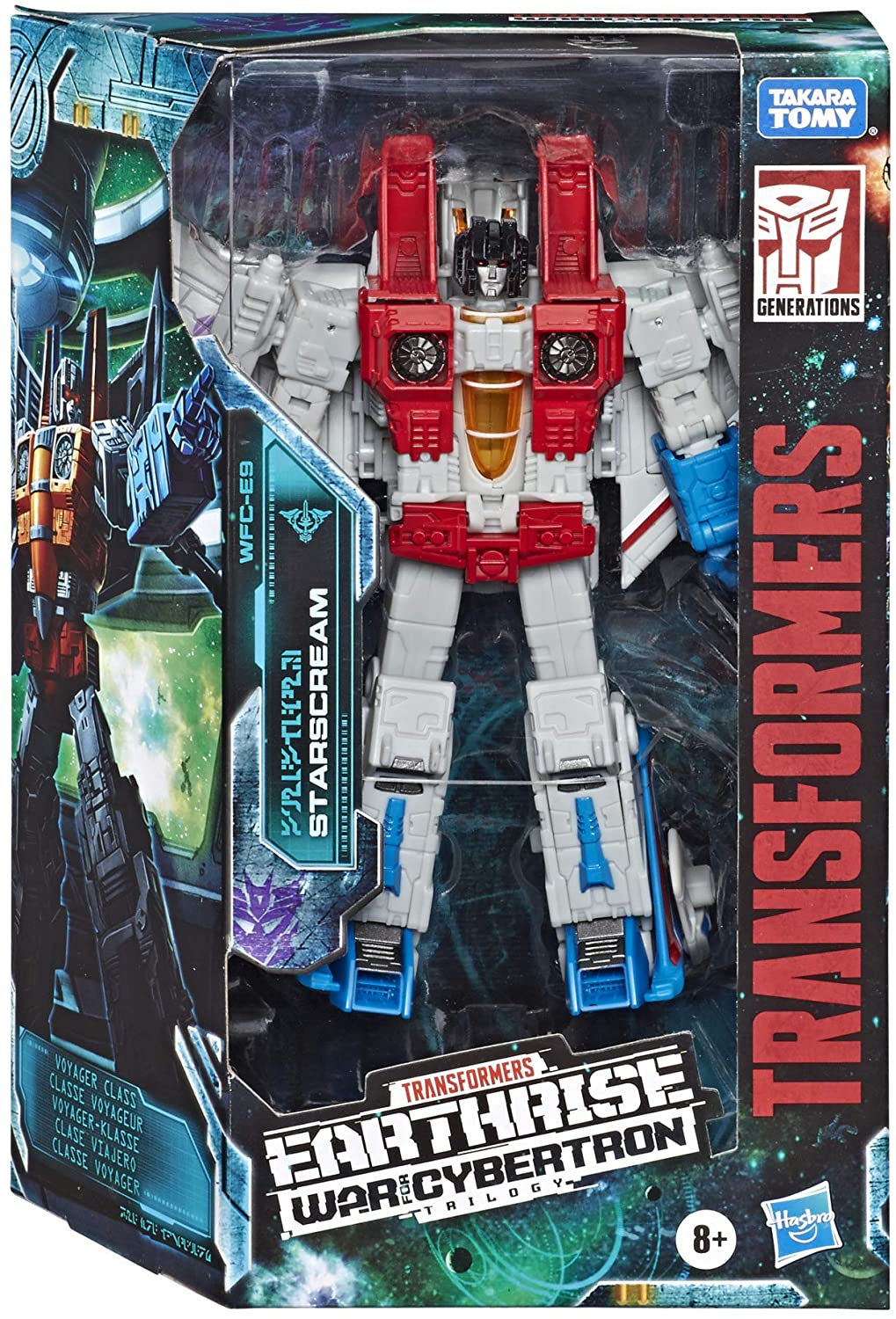 Transformers Earthrise War Cybertron - Starscream - Hasbro