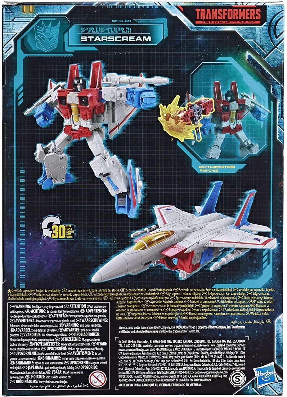 Transformers Earthrise War Cybertron - Starscream - Hasbro