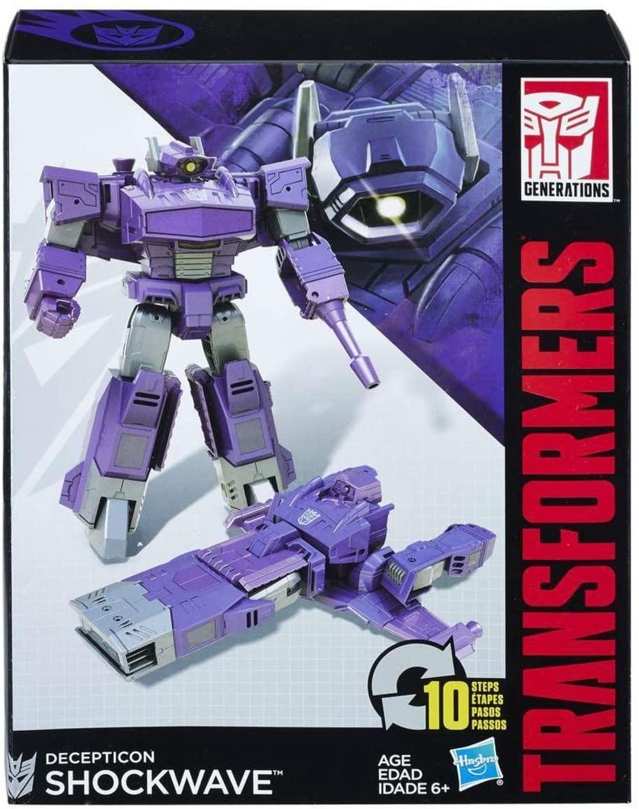 Transformers Generations - Decepticon Shockwave 10 passos - Hasbro B0785
