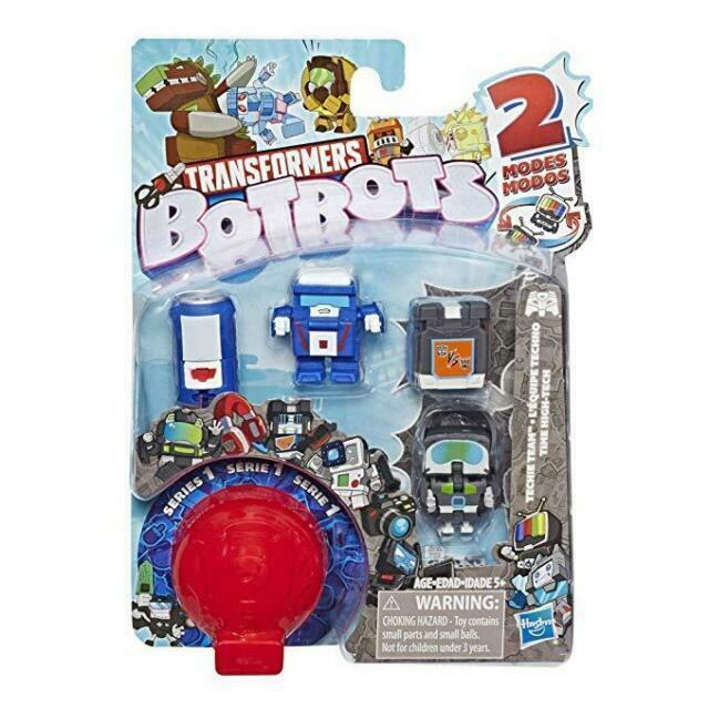 Transformers Pack com 5 Botbots - Hasbro E3486