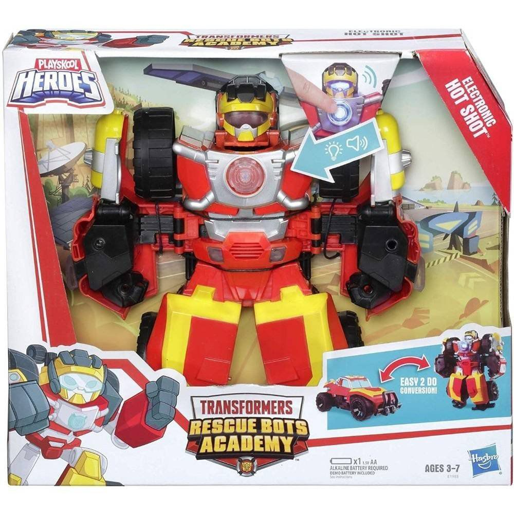 Transformers Rescue Bots Academy - Hot Shot - Hasbro E1988