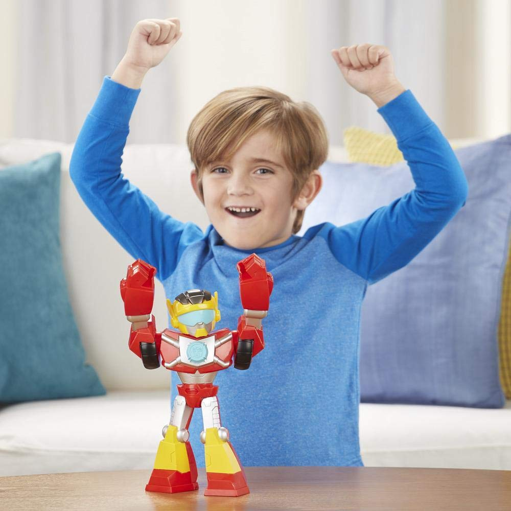Transformers Rescue Bots Academy - Hot Shot - Mega Mighties - Hasbro E4131