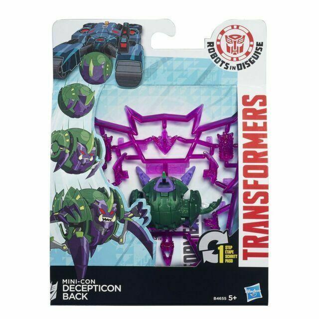 Transformers Robots In Disguise - Decepticon Back - Hasbro B0763