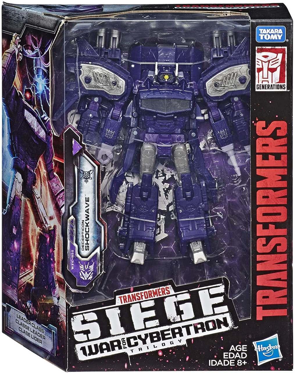 Transformers Siege  WFC-S14 - Figura Shockwave - Hasbro