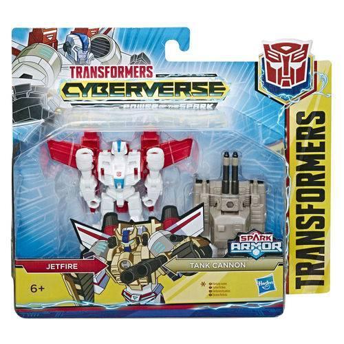 Transformers Spark Armor - Jetfire & Tank Cannon - Hasbro E4219