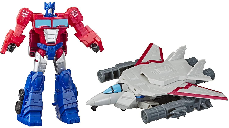 Transformers Spark Armor- Optimus Prime e Sky Turbine Hasbro