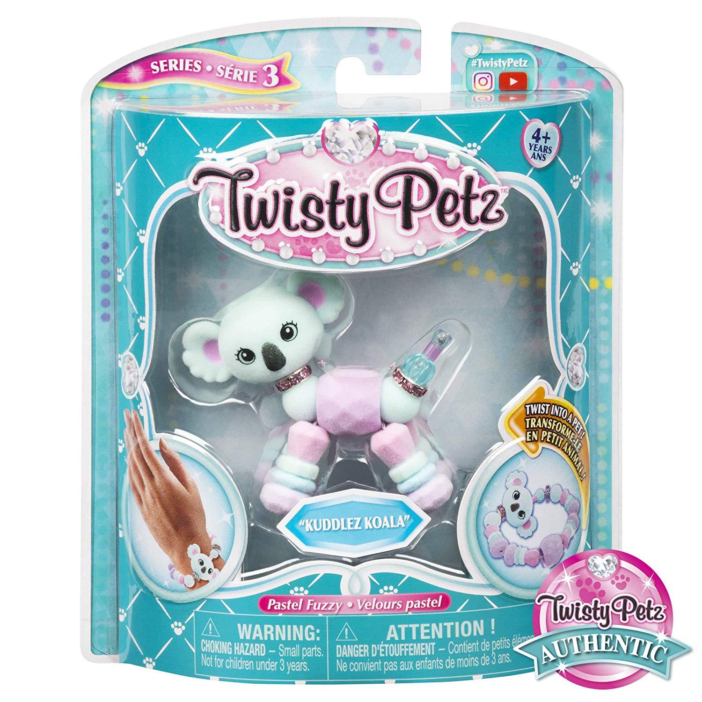 Twisty Petz Pulseira  Single - Kuddlez Koala Coala - Sunny